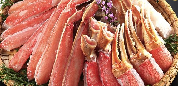 浜海道のカニのお取り寄せ口コミ!どのカニが美味しい?