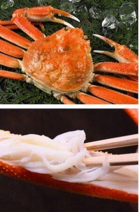 北海道産のカニが美味しい季節はやっぱり冬?